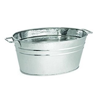 TableCraft Products RBT2314 Oval Beverage Tub Stainless Steel 23'' x 14'' x 9''