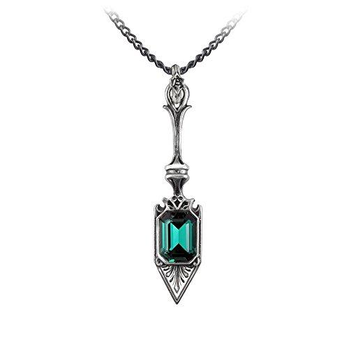 Alchemy Gothic Sucre Vert Absinthe Spoon Pendant w/ -
