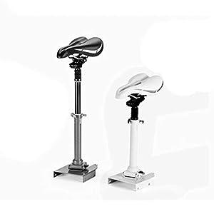 Feidadjdzf Selle de scooter électrique pliable hauteur chaise pliante cadeau d'anniversaire