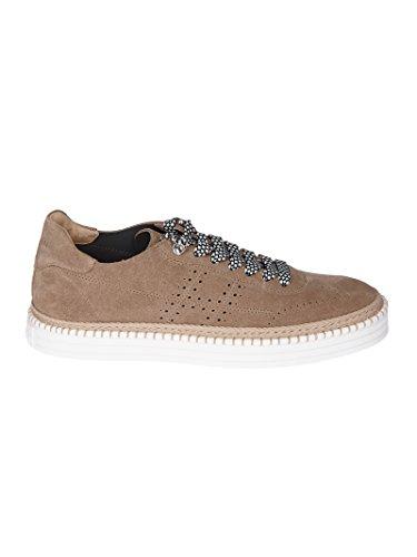 Hogan Mannen Hxm2600k850i9sc808 Beige Suède Sneakers