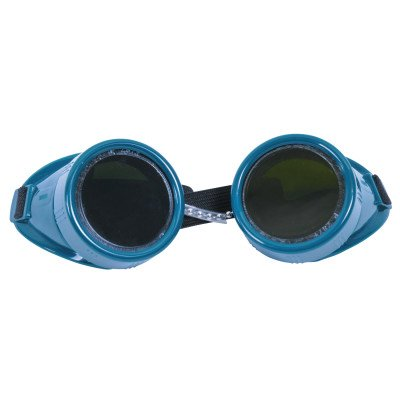 Cup Goggles, Hard Plastic, Green (14 - Green 14k Wg