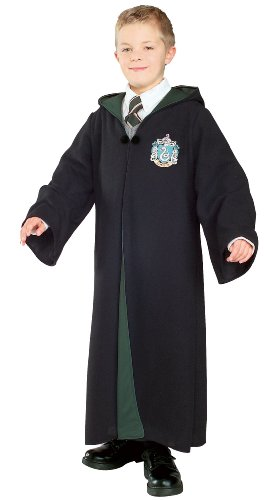 Malfoy Draco Costume (Deluxe Slytherin Robe Child Costume - Small)