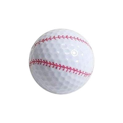 Golf Balls, Nitro Novelty Baseball, 3 Pack