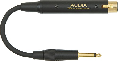 Transformer Mic Impedance (Audix T-50K Inline Impedance Matching Transformer)