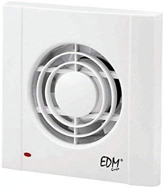 EDM GRUPO Extractor de Baño Edm75, Blanco: Amazon.es: Hogar