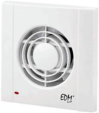 EDM GRUPO Extractor de Baño Edm75, Blanco