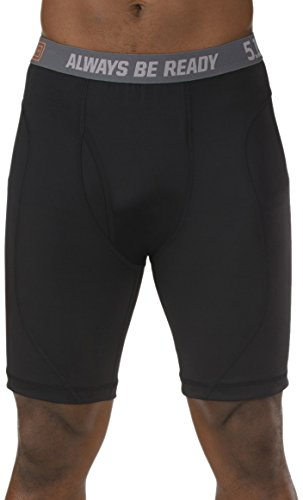 5.11 Tactical Underwear - 5.11 Tactical Performance Brief (9-Inch), Black, X-Large