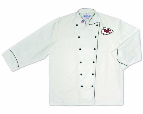 Kansas City Chiefs Apron (NFL Kansas City Chiefs Premium Chef Coat (X-Large))