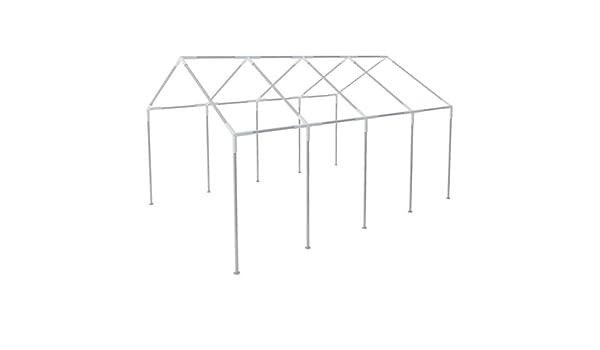 FZYHFA Estructura para Carpa 8x4 Acero, Cenador Estructura de Aluminio: Amazon.es: Jardín