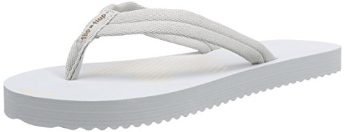 flip*flop Slim Tex - Sandalias de dedo Mujer Gris - Grau (061)
