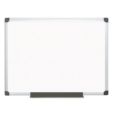 Value Lacquered Steel Magnetic Dry Erase Board, 36 x 48, White, Aluminum Frame, Sold as 1 Each