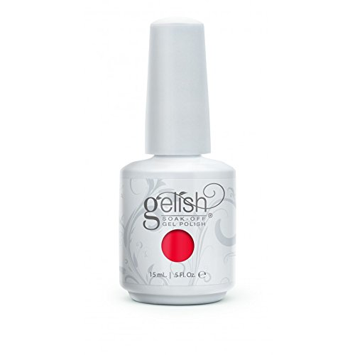 Gelish Harmony Cruisin' The Boulevard Nail Gel, Red Harmony Gelish 01479