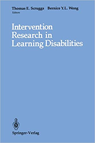 Intervention Research in Learning Disabilities (452)