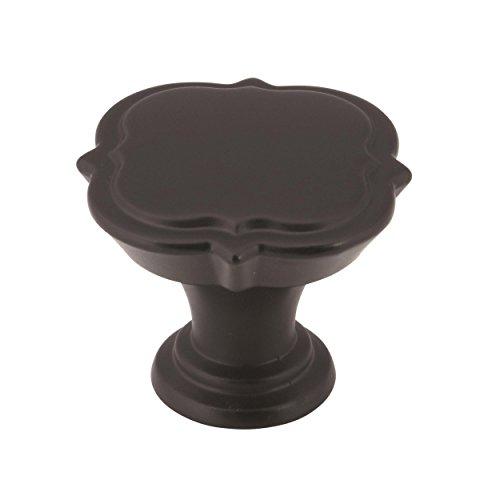 - Amerock BP36628BBR Grace Revitalize Cabinet Knob, 1-3/8 in (35 mm) Diameter, Black Bronze