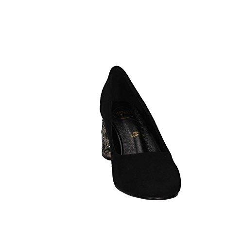 J1486 Court EXE' Shoes Black Black 7109G Woman qwwT8H