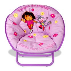 Dora the Explorer Kid-Size Sacer Chair with Carry Case  sc 1 st  Amazon.com & Amazon.com: Dora the Explorer: Kid-Size Sacer Chair with Carry Case ...
