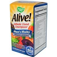 Nature's Way Alive! Men's Multi Vitamins and Mineral, 90 Tablets