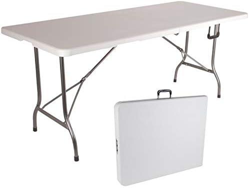 Probache Table Pliante D Appoint Portable Pour Camping Ou Réception 180 Cm