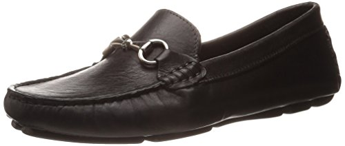 daad30f4962 best Massimo Matteo Driver With Bit Black Bison Shiny Silver Women s  Moccasin Shoes
