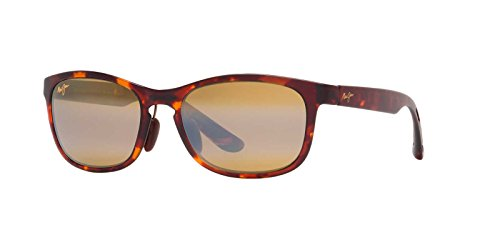 Maui Jim Front Street Sunglasses (431) Tortoise Matte/Bronze Plastic - Polarized - - Sunglasses Street