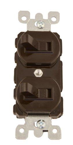 Leviton 5241 15 Amp 120277 Volt Duplex Style SinglePole3Way Ac