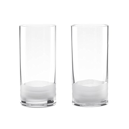 Lenox Donna Karan Wave Highball (Set of 2), Metallic