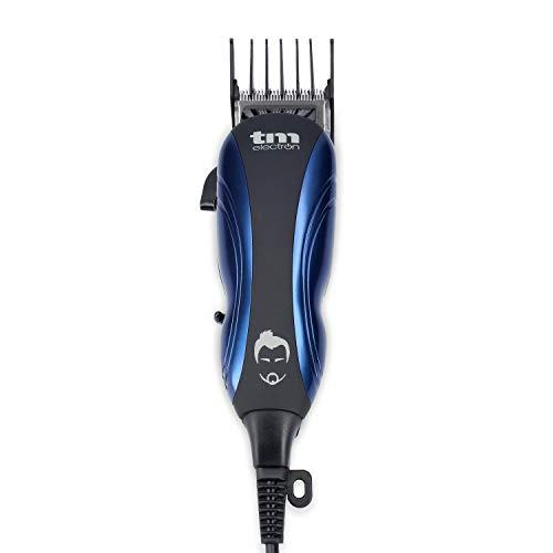 TM Electron TMHC105 - maquinilla cortapelos profesional con cable de red, 4 peines y longitud de corte variable: Amazon.es: Salud y cuidado personal