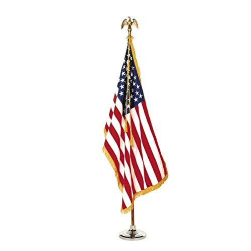 Valley Forge 7ft U.S. Indoor Flag Set