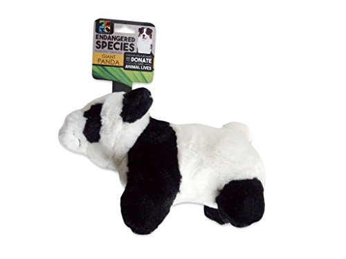 Endangered Species ES23 Giant Panda Dog Toy