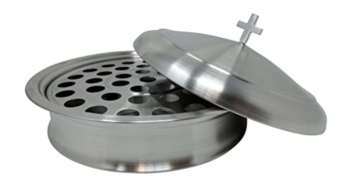 Gianna's Home Stainless Steel Communion Tray with Cover for $<!--$69.99-->