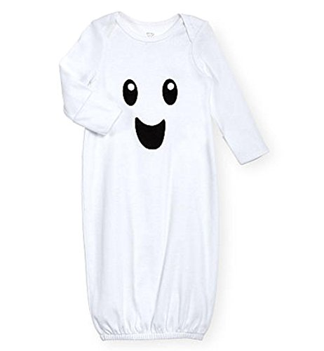 Ghost Costume Halloween Baby Boys & Girls Blanket Sleepsack Nightgown (0-3 Months) (Preemie Halloween Costumes)