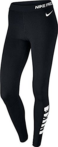Nike Pro Warm Women's Tights (SM x One Size, Black) - Nike Pro Leggings