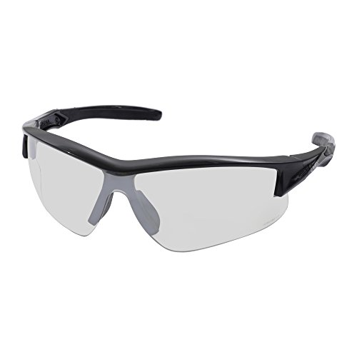 Howard Leight by Honeywell Uvex Acadia Anti-Glare Shooting Glasses with Hardcoat Lens Coating, SCT-Reflect 50 Lens (R-02216)