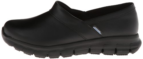 Skechers for Work Women's Relaxed Fit Slip Resistant Work Shoe, Black, 7.5 M US by Skechers (Image #5)