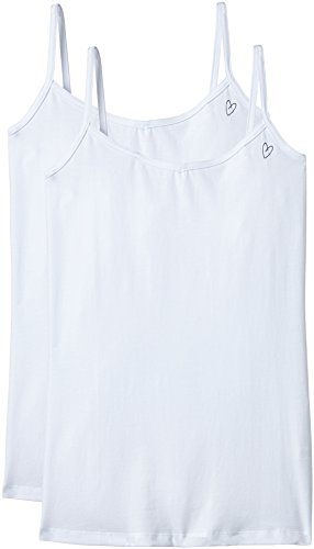 Intimuse 11203 - camiseta sin mangas Mujer blanco (weiß)
