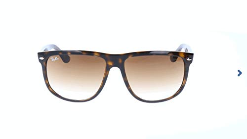 Ray-Ban RB4147 Boyfriend Square Sunglasses, Light Tortoise/Brown Gradient, 60 mm (Billig Ray Ban Style Sonnenbrille)