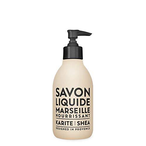 Compagnie de Provence Savon de Marseille Extra Pure Liquid Soap - Karite Shea Butter - 10 Fl Oz Plastic Pump Bottle