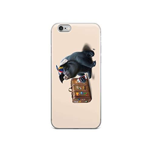 iPhone 6/6s Case Anti-Scratch Creature Animal Transparent Cases Cover Might Colour Animals Fauna Crystal - Scorpion Case Race