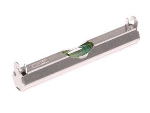 Stanley Schnurwasserwaage, leichte Aluminiumausführung, 2 Haken für Schnurnutzung, flache Unterseite, 0-42-287