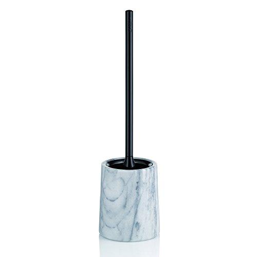 Kela Toilet Brush Set Varda Collection, Marble White (Toilet Brush Collection)