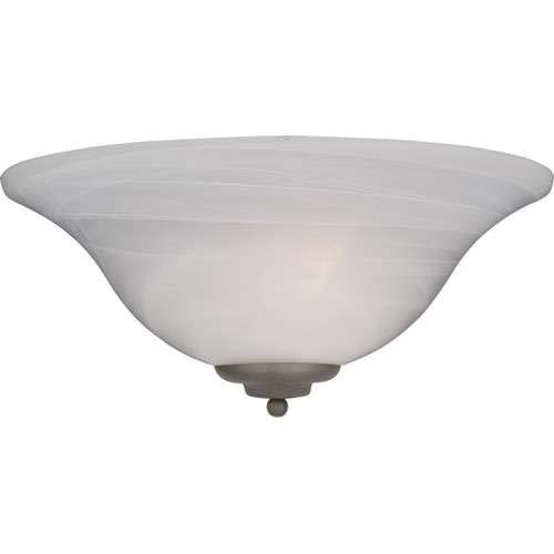 Maxim Lighting Essentials Pewter 1-Light Wall Sconce 20582MRPE