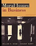 Cover of Moral Issues in Business (Non-InfoTrac Version)
