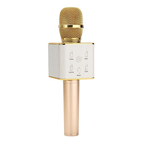 Wireless Microphone Handheld - Microphone Wireless Handheld - Q7 Bluetooth Handheld Wireless Microphone KTV KARAOKE With Speaker (Wireless Handheld Microphone System) ()
