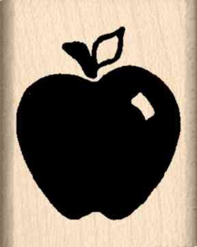 Stamps by Impression ST 0157 Apple Rubber -