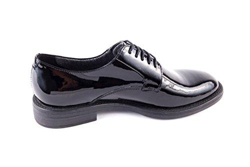 Negro 201 4203 260 Mujer De Vb 4203 Cordones Zapatos Vagabond Charol 260 Para vgwT5fnqEE