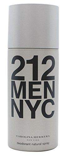 Deodorant 212 Men - Carolina Herrera 212 Men Deodorant Spray 5.1oz (150ml)