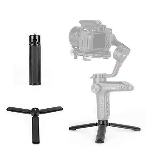 - Universal Stabilizer Tripod - Handheld Skid-Proof Lightweight Durable Tripod 1/4'' Handle Grip Comaptible for DJI Ronin S MOZA Air 2 Air Cross Zhiyun Crane 2 Feiyutech AK4000 AK2000 Gimbal Accessories