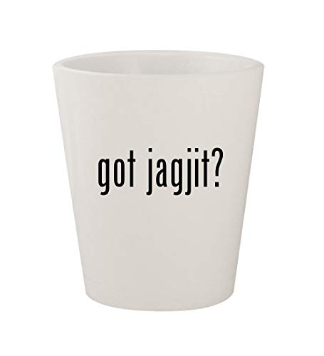 got jagjit? - Ceramic White 1.5oz Shot Glass (Mirza Ghalib Best Ghazals)