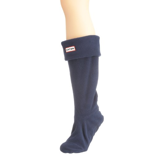 Unisex Vuxna Jägare Boot Strumpor Stövlar Vinter Varm Fleece Welly Navy