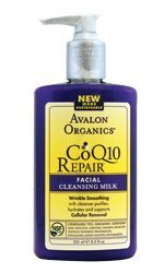 Avalon Organics Facial Cleansing Milk Lavender - Avalon Organics COQ10 REPAIRTM Facial Cleansing Milk
